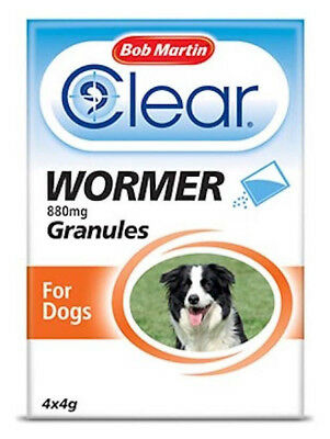 Bob Martin Easy to Use Dewormer Granules 4 Treatments