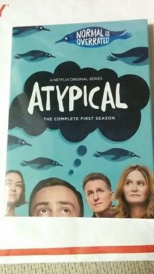 Atypical (DVD, 2018, 2-Disc Set) new sealed packaging