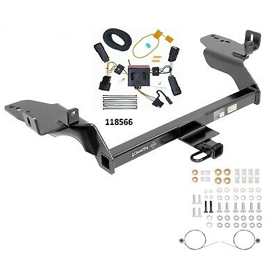 trailer hitch & wiring for 2013-2016 ford, escape, all 1 1/