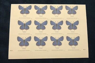 USA2016 #5136 68c Eastern Tailed-Blue Butterfly - Plate Block of 12 Mint