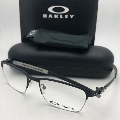 4aa7e88557 New OAKLEY Eyeglasses TINCUP 0.5 TITANIUM OX5099-0151 51-18 Powder Coal  Frames