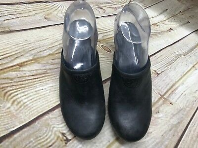 Women's Shoes Minnetonka Womens Black Casual Slide Mule Shoes Size 6 Leather New Nwt 5620 Clothing, Shoes & Accessories