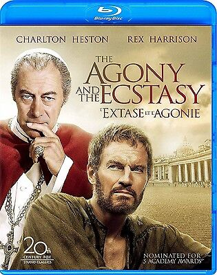 The Agony And The Ecstasy (Charlton Heston, Rex Harrison) *new Blu-Ray*