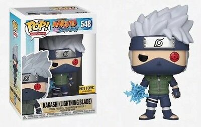 NEW 2018 Funko POP! Naruto (Lightning Blade) #548 Hot Topic Exclusive