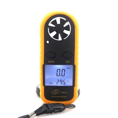 Pocket LCD Digital Wind Speed Meter Anemometer Professional Tool