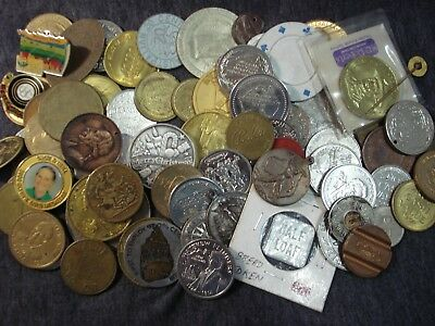 Bread Token Medallion Medals Coin Collectible Wholesale Resell Approx 75pc Lot4