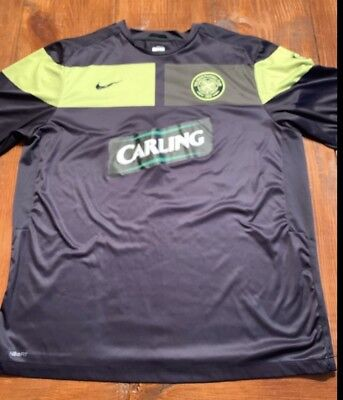 39004c811 NIKE M JERSEY Carling The Celtic Football Club Green Black -  19.00 ...