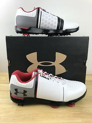NEW!  75 UNDER Armour UA Spieth One JR. Golf Shoes Youth Size 6y ... b7118579d