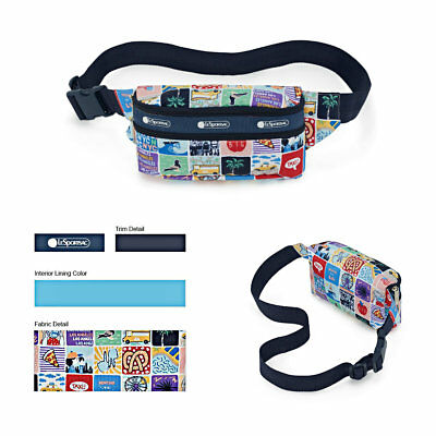 LeSportsac NY to LA Double Zip Belt Bag, Exclusive New York to Los Angeles K602