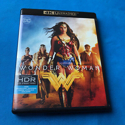 Wonder Woman  (4K UHD (Ultra HD) Disc only ) **NO Digital Code** FREE SHIPPING