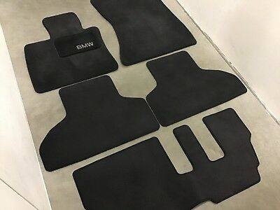 Bmw Oem X5 Carpeted Floor Mats Black 82110008635 Please Read