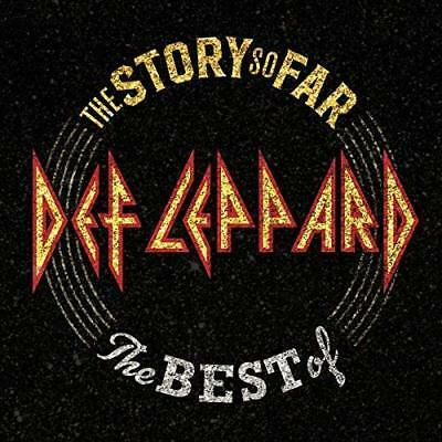 The Story So Far The Best Of Def Leppard Discs 2 glam metal Mercury Audio CD