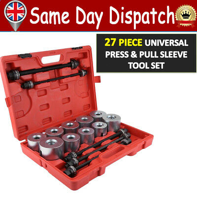 Press Pull Sleeve Kit Bush Bearing Removal Insertion Tool Set for Cars LGV HGV