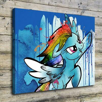 """12""""x16"""" My Little Pony HD Canvas print Painting Home decor Picture Room Wall art"""