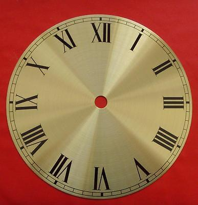 REF 28/1cjsd#12  brass Napoleon hat Replacement  clock dial 150mm od