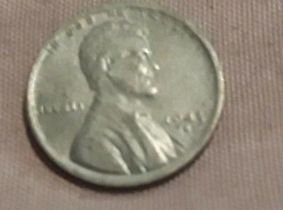 1943 1C steel Lincoln wheat estate Cent collectible penny lot. Free Ship