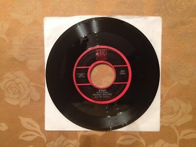 MAURICE WILLIAMS & THE ZODIACS Vinyl 45 Stay B/W May I NM- RARE  Eric 1ST PRESS!