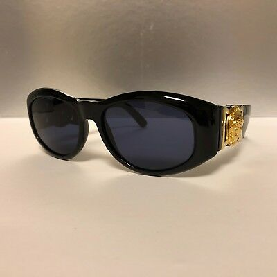 GIANNI VERSACE MOD 424 Col 852BK Authentic Vintage Sunglasses Great con! 309dabe53694