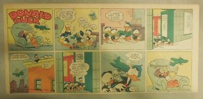 Donald Duck Sunday Page by Walt Disney from 7/18/1943 Third Page Size