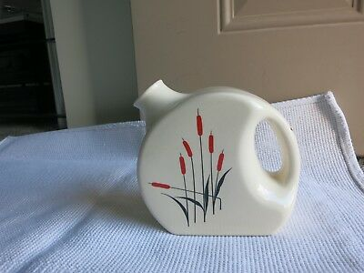 Vtg Sears Roebuck Cat Tail beverage Pitcher 1930s-1940s Cat Tail Water Pitcher