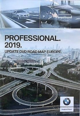 BMW 2018 2019 Professional Navigation Maps Europe Sat Nav DVD - EUROPE