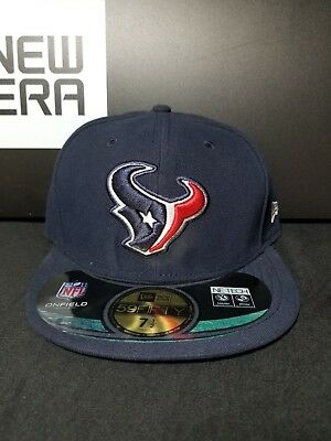 HOUSTON TEXANS NFL On Field Authentic New Era 59Fifty Fitted Sz 7-1 ... ccb876f16c34