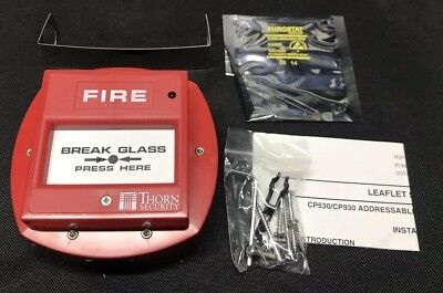 Thorn / Tyco Fire CP530 Addressable Waterproof Manual Callpoint - 514.001.022