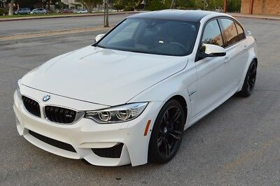 2016 BMW M3  2016 BMW M3! ALL options! $83k MSRP!  PRICED TO SELL!