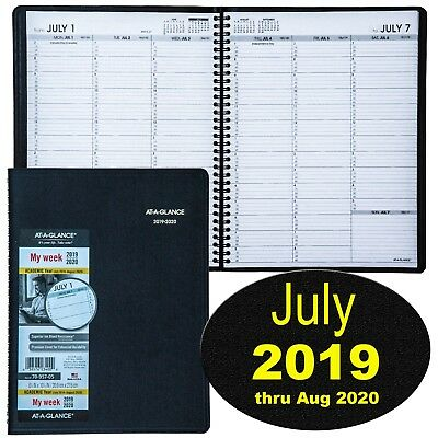 At-A-Glance 70-957-05 July 2019 thru August 2020 Weekly Appointment Book