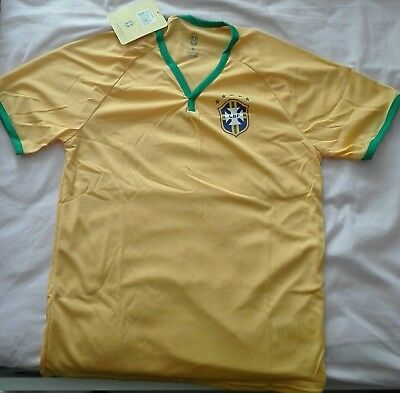 MAILLOT FOOTBALL BRESIL Neuf Taille M EUR 10,00 | PicClick FR