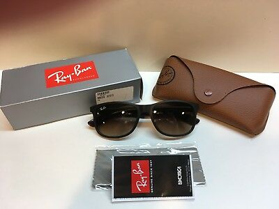 ac368d709e RAY BAN RB 4202 6073 13 Andy Matte Brown New 100% Authentic -  99.94 ...