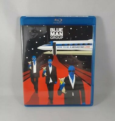 Blue Man Group How To Be A Megastar Live! Blu Ray Like New