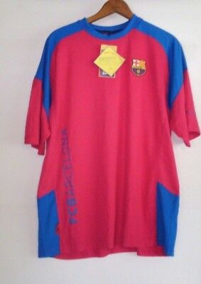 a47f21731b FC Barcelona Camiseta Shirt Jersey XL Red Producte Oficial Fútbol Soccer NWT