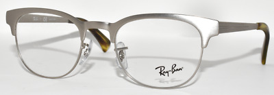 3b2bdecb65 New Authentic Eyeglasses Unisex Ray Ban Rb6317 2835 Brushed Gunmetal 49-20- 140