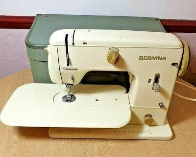 Vintage Bernina 700 Sewing Machine Case Manuals Accessories Tools Fully Tested