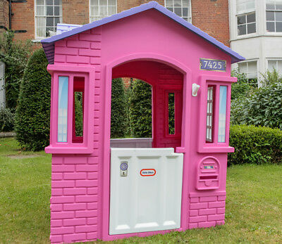 Playhouse Cape Cottage Little Tikes Outdoor Kids House Toy Pink