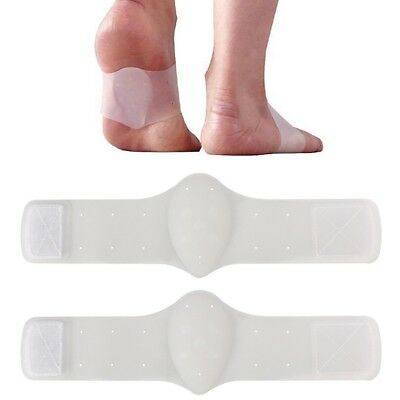 1 Pair Foot Support Cushioned Arch Helps Decrease Plantar Fasciitis Pain Su R2S8