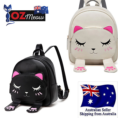 Ozmeow Kids Toddler Cat Backpack For Girls Small and Stylish Cartoon School Bag