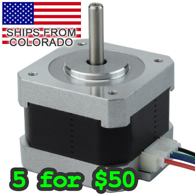 NEMA17 34mm Stepper Motor for Arduino / Pi / 3D Printers / CNC / DIY application