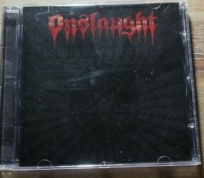 Sounds of Violence by Onslaught (CD, 2011, Del Imaginario Discos)
