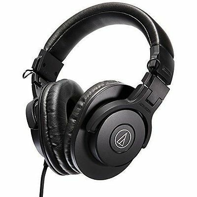 Audio-Technica ATH-M30x Professional Studio Monitor Headphones, Black Japan