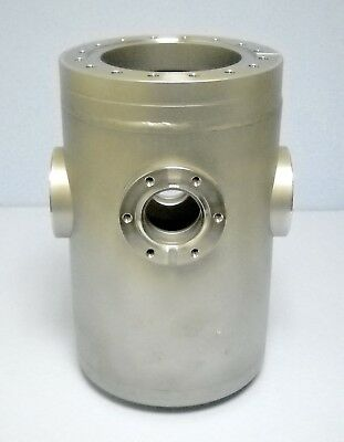 "Ultra High Vacuum Chamber 6"" by 10"" Multiple UHV Ports NEW"