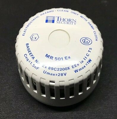 Thorn Tyco Minerva Analogue Optical Smoke Detector - MR 501 Ex 516.031.002