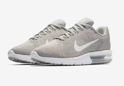 2c78b34405ff26 NEW Nike Air Max Sequent 2 Running Shoes Pale Grey 852465-011 Womens Size  8.5