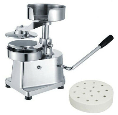 Commercial Manual hamburger patty press burger machine patties maker Dia 130mm