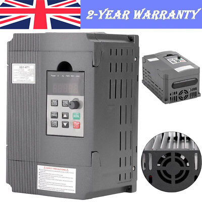 1.5KW Single Phase Variable Frequency Drive Inverter CNC Motor PWM Control CE