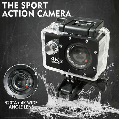 Waterproof Ultra 4K HD 1080P WiFi DV Action Sports Video Camera Camcorder Gopro