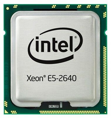 Intel® Xeon® Processor E5-2640 6 Core 12 Threads FCLGA2011