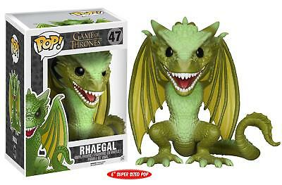 Figurine Funko Pop - Vinyl - Game of Thrones -  Rhaegal oversized  #47 - Neuf