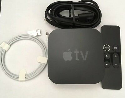 Apple TV 4K 32GB HDR 5th Generation MQD22LL/A Great Condition  NO BOX